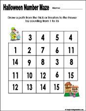 pictures on kindergarten halloween math worksheets wedding ideas