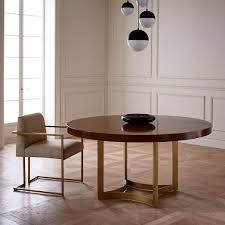 Extraordinary West Elm Round Dining Table  For Dining Room - West elm dining room chairs