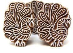 wooden block printing carved indian wood textile block