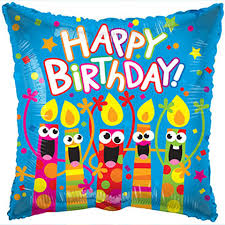 singing balloon bulk happy birthday singing candles foil balloons 18 in at