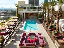 the best hotel pools in la mapped