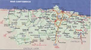 Asturias Spain Map by Asturias Regional Map Austurias U2022 Mappery