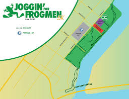 San Diego On Map by San Diego California Joggin U0027 For Frogmen