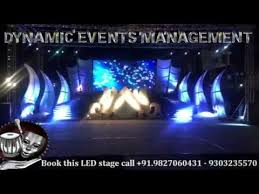 wedding backdrop setup led wall stage backdrop and decor setup setup indore bhopal