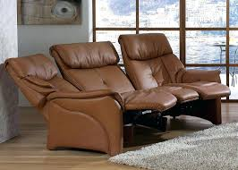 Curved Sofa Uk by Recliners Terrific 3 Seater Leather Recliner For House Ideas 3