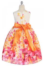 fine cotton flower printed flower dress