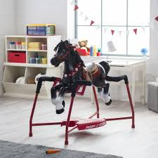 Horse Christmas Gifts For Men Radio Flyer Duke Interactive Spring Horse Ride On Walmart Com