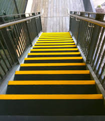 frp stair treads nosing and safety products permastruct