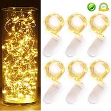 Battery Operated Fairy Lights by 6 Pcs Fairy Lights Cool White Led String Lights Battery Operated