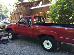 toyota pickup rare 1987 toyota pickup 4x4 xtra cab up for sale on ebay