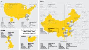 Map Of Nuclear Power Plants In The Usa by China Pips Us In Race To Start The World U0027s First Meltdown Proof