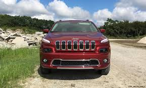 2016 jeep cherokee sport red 2016 jeep cherokee overland 4x4 v6 road test review