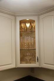 glass shelves for kitchen cabinets corner cabinet with glass shelves corner cabinets