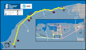 Map Of Cozumel Mexico by Course Maps Itu World Triathlon Grand Final Cozumel 2016