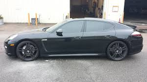 Porsche Panamera All White - justin tillman black porsche panamera to avery satin pearl white