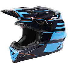 monster motocross helmets bell new 2017 mx moto 9 flex carbon blocked blue motocross dirt