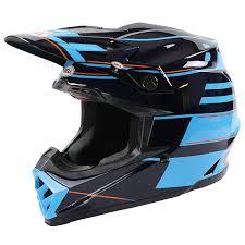 full face motocross helmets bell new 2017 mx moto 9 flex carbon blocked blue motocross dirt