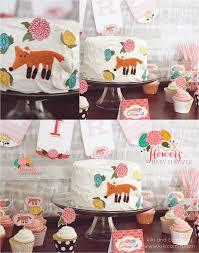 foxes and flowers baby shower kiki u0026 company