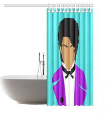 36 X 72 Shower Curtain Selena Quintanilla Prez Shower Curtain Original Illustration