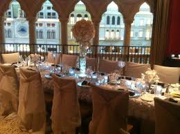 table and chair rentals las vegas our beautiful wedding reception at the canaletto at the venetian