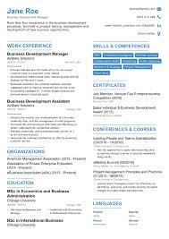 International Business Resume Sample by 2017 Professional Résumé Templates For Your Dream Job
