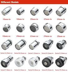 kitchen faucet swivel aerator swivel faucet aerator silver water swivel copper faucet