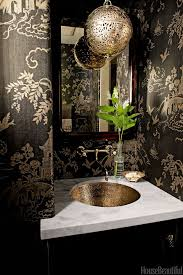 Wallpaper For Bathrooms Ideas Colors 73 Best The Chinoiserie Powder Room Images On Pinterest Bathroom