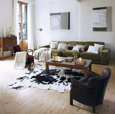 Living Room Rugs Modern Decorating Appealing Faux Animal Skin Rugs With Sofas And Wooden