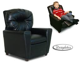 Toddler Recliner Chair Leather Like Child Recliner Chair With Cup Holder