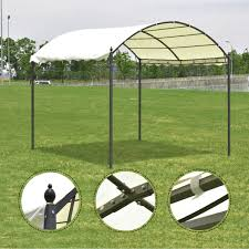 Patio Tent Gazebo by 10 U0027 X 10 U0027 Outdoor Canopy Tent Awning Arch Style Canopies