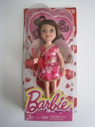 mattel barbie sister chelsea brunette cupid happy valentine doll