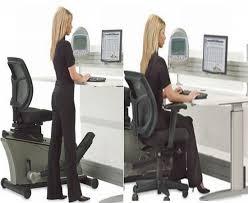 Exercise At The Office Desk Elliptical Machine Office Desk