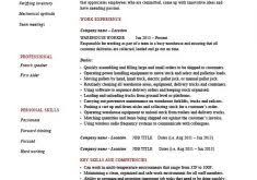 Warehouse Sample Resume by Mazzal Us Modern Resume Picturesque Design Ideas M