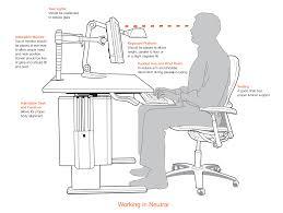 ergonomic desk setup for laptop best home furniture decoration