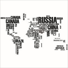 Huge World Map by Aliexpress Com Buy Pvc Large Wallpaper World Map Wall Sticker