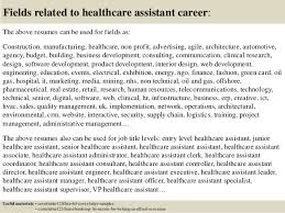 top 5 healthcare assistant cover letter samples