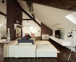attic living room design home ideas decor gallery