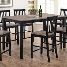 counter height rustic u0026 farmhouse kitchen u0026 dining tables you u0027ll