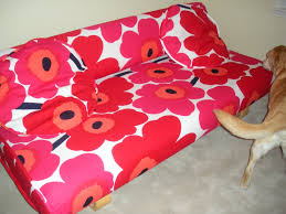 Replacement Futon Covers Decorating Using Alluring Futon Slipcover For Pretty Furniture