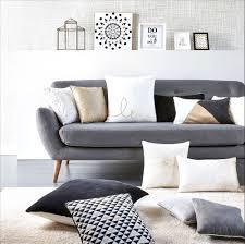 canap et gris deco salon canape gris