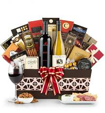 wine and gift baskets the ambassador wine gift basket