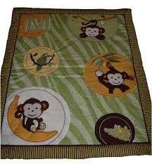 Monkey Rug For Nursery Amazon Com Sisi Baby Bedding Jungle Monkey Green 13 Pcs Crib