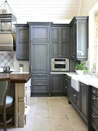 blue grey painted kitchen cabinets light gray painted kitchen