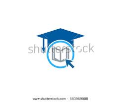 design online education online education logo design element stock vector 583969000