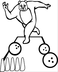 coloring page for sports kids