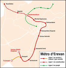 Dc Metro Red Line Map by Yerevan Metro Wikipedia