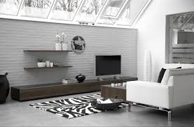 modern family room design ideas of gray contemporary pictures