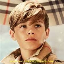 romeo haircut romeo beckham looks beyond adorable in new burberry caign