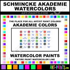 schmincke akademie aquarell watercolor paint colors schmincke