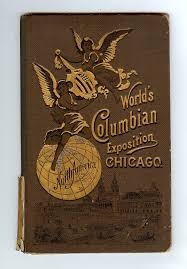 Chicago Columbian Exposition Map by Books Used New Rare Art Photography